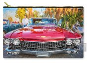 1960 Cadillac Eldorado Biarritz Convertible Painted  Carry-all Pouch
