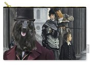 Afghan Hound Art Canvas Print Carry-all Pouch