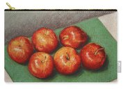 6 Apples Washed And Waiting Carry-all Pouch