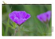 Bloody Geranium Wild Flower Carry-all Pouch