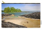Coast Of Pacific Ocean On Vancouver Island Carry-all Pouch by Elena Elisseeva