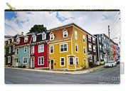 Colorful Houses In St. John's Newfoundland Carry-all Pouch