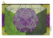 Dodecahedron In A Metatron's Cube Carry-all Pouch