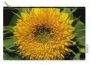 Dwarf Sunflower Named Teddy Bear Carry-all Pouch
