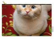 Flame Point Siamese Cat Carry-all Pouch