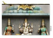 Hindu Temple With Indian Gods Kuala Lumpur Malaysia Carry-all Pouch
