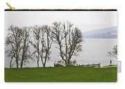 Loch Ness And Boat Jetty Next To Urquhart Castle Carry-all Pouch