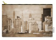 Manhattan Buildings Vintage Carry-all Pouch