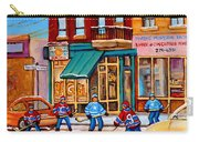 Montreal Paintings Carry-all Pouch