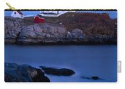 Nubble Lighthouse Carry-all Pouch by Brian Jannsen