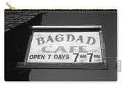 Route 66 - Bagdad Cafe Carry-all Pouch by Frank Romeo