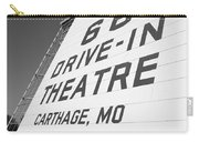 Route 66 Drive-in Theatre Carry-all Pouch