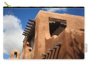Santa Fe Adobe Building Carry-all Pouch