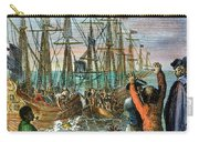 The Boston Tea Party, 1773 Carry-all Pouch by Granger