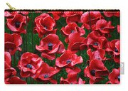 Tower Of London Poppies Carry-all Pouch