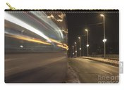 Tram At Night Carry-all Pouch