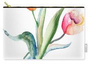 Tulips Flowers  Carry-all Pouch