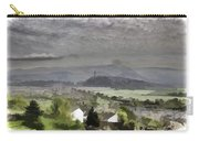 View Of Wallace Monument And Surrounding Areas Carry-all Pouch