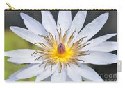 Water Lily  6 Carry-all Pouch