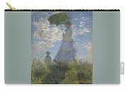 Woman With A Parasol Carry-all Pouch