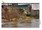 Worcester Cathedral And Swans Carry-all Pouch