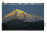 Mt Hood Alpenglow Carry-all Pouch