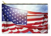 American Flag 55 Carry-all Pouch
