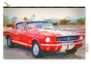 66 Mustang Gt 350 Carry-all Pouch