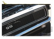 67 Black Camaro Ss Grill-8039-2 Carry-all Pouch