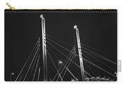 6th Street Bridge Black And White Carry-all Pouch