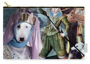 Bull Terrier Art Canvas Print Carry-all Pouch