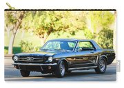 1965 Shelby Prototype Ford Mustang Carry-all Pouch