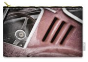 1966 Ferrari 275 Gtb Steering Wheel Emblem Carry-all Pouch by Jill Reger