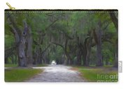 Allee Of Live Oak Tree's Carry-all Pouch