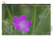 Bloody Geranium Carry-all Pouch