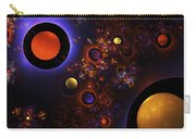 Computer Generated Sphere Abstract Fractal Flame Modern Art Carry-all Pouch