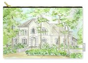 Custom House Portrait  Or Rendering Sample Carry-all Pouch