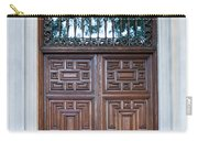 Distinctive Doors In Madrid Spain Carry-all Pouch