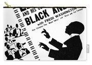 Duke Ellington (1899-1974) Carry-all Pouch by Granger