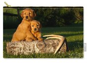 Golden Retriever Puppies Carry-all Pouch