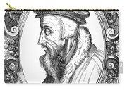 John Calvin (1509-1564) Carry-all Pouch