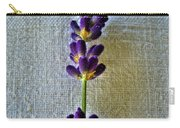 Lavender On Linen 2 Carry-all Pouch