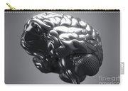 Metallic Brain Carry-all Pouch
