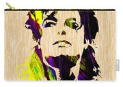 Michael Jackson Painting Carry-all Pouch
