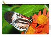 Piano Key Butterfly Carry-all Pouch