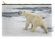 Polar Bear Crossing Ice Floe Carry-all Pouch