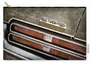 1969 Pontiac Gto Taillight Emblem -0475a Carry-all Pouch