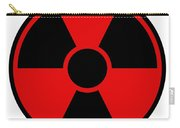 Radiation Warning Sign Carry-all Pouch
