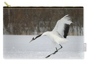 Red-crowned Cranes Carry-all Pouch