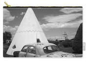 Route 66 Wigwam Motel And Classic Car Carry-all Pouch